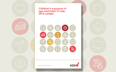 TRP HELIX: ASA PUBLISH CHILDREN'S EXPOSURE TO AGE-RELATED TV ADS 2018 UPDATE REPORT