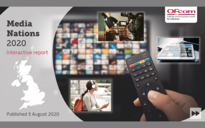 TRP SURVEYS: OFCOM PUBLISH MEDIA NATIONS 2020 INTERACTIVE REPORT